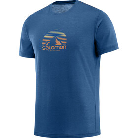 Salomon Exp*** Graphic T-shirt Heren, poseidon